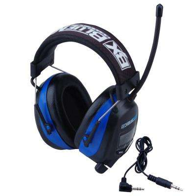 Digital Earmuff with AM/FM Stereo Radio and Audio Input