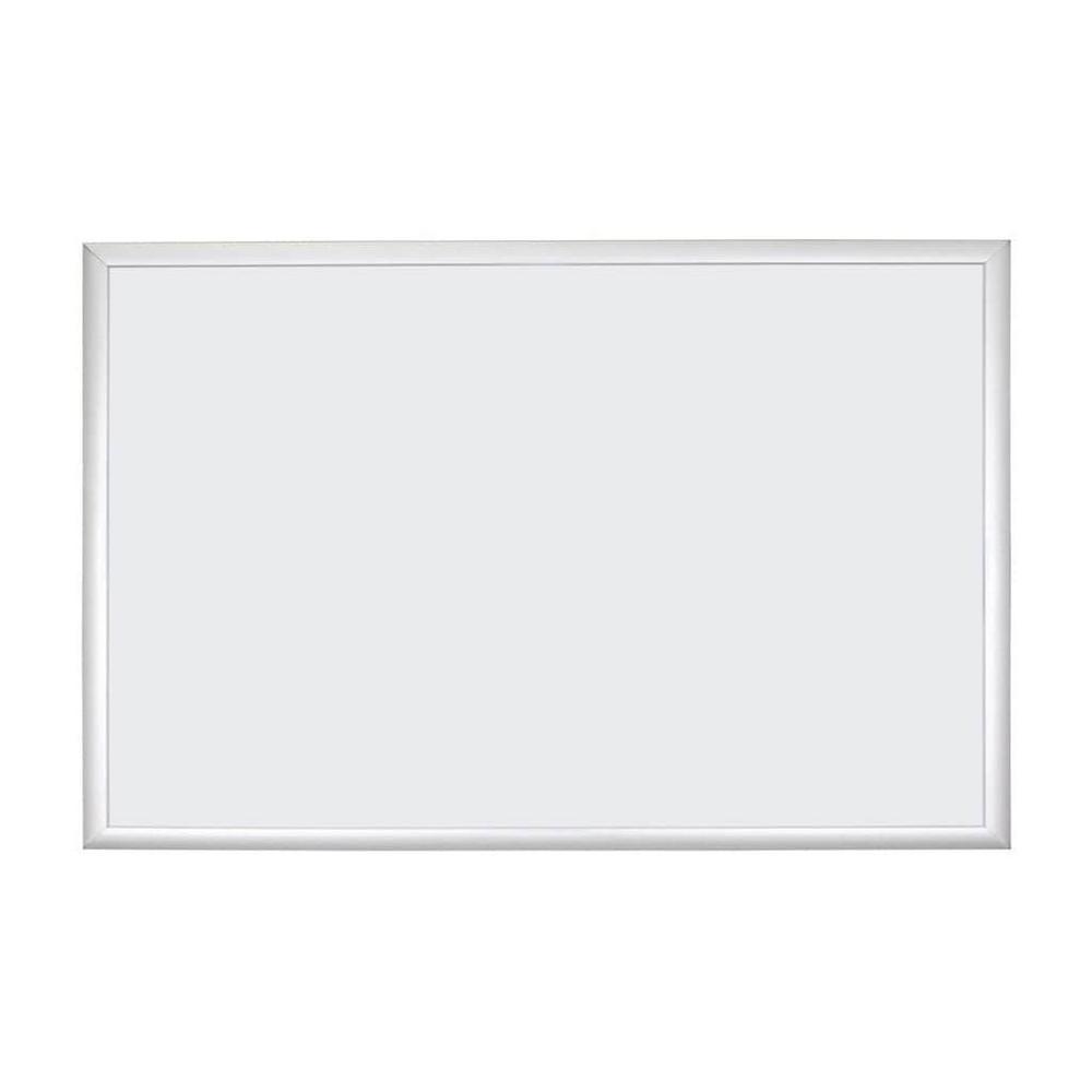 Magnetic Dry Erase Board 35 in. x 23 in. Silver Aluminum Frame