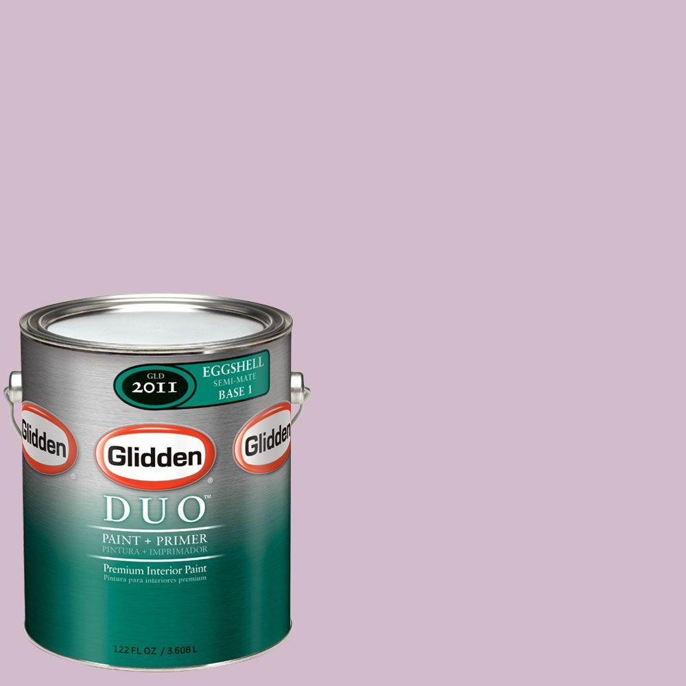 Glidden DUO Martha Stewart Living 1-gal. #MSL186-01E Lavender Verbena Eggshell Interior Paint with Primer - DISCONTINUED