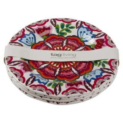 9 in. Talavera Melamine Salad Plate (Set of 4)