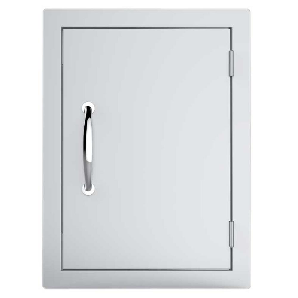 "17""by 24""Stainless Steel Single Vertical Access Door with Vents"