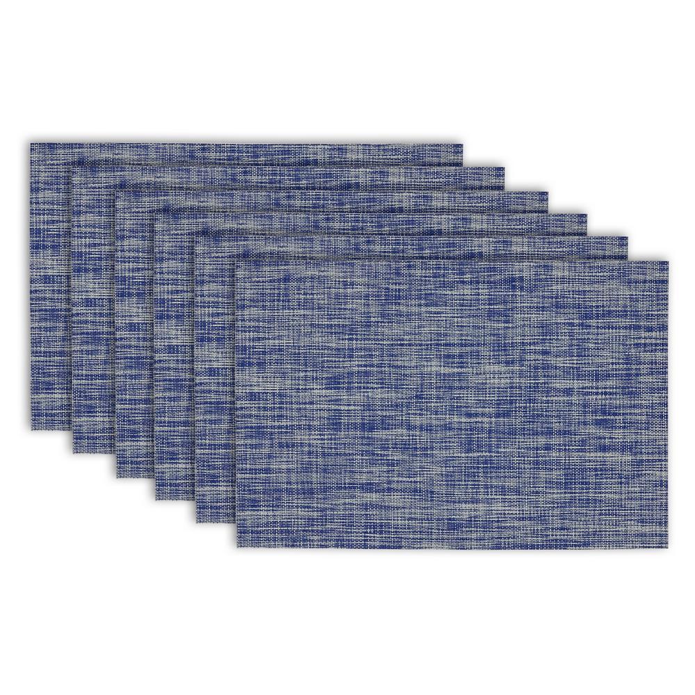 Nautical Blue Tweed  Placemat (Set of 6)