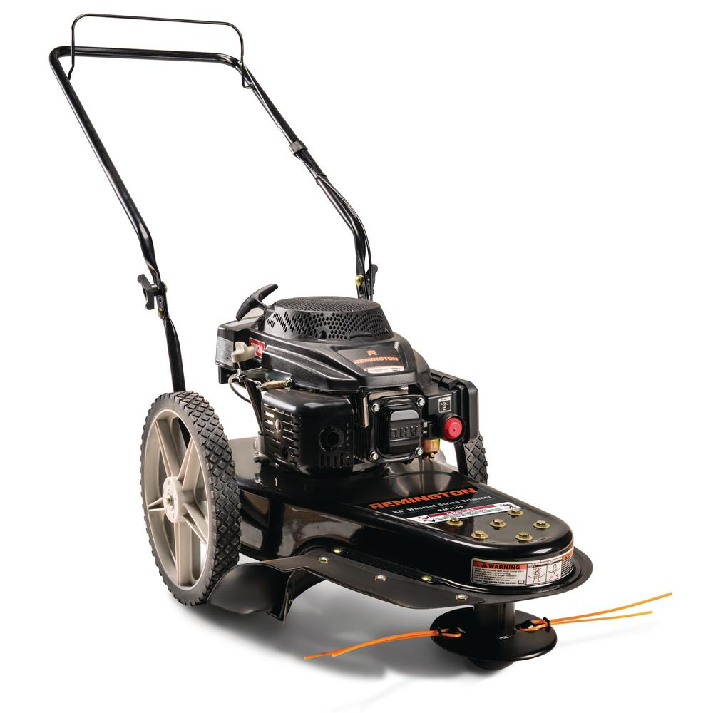 Remington 22 In 159cc Gas Walk Behind String Trimmer Mower 25a