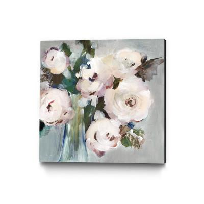 "30 in. x 30 in. ""Pale Pink Bouquet I"" by Valeria Mravyan Wall Art"