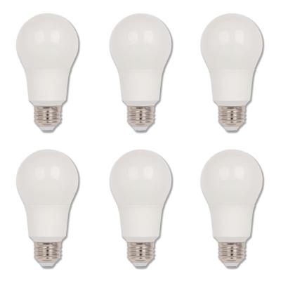 60-Watt Equivalent Omni A19 Dimmable ENERGY STAR LED Light Bulb Bright White Light (6-Pack)