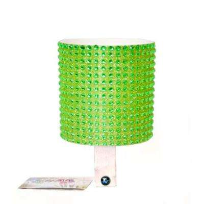 Bling Green Bicycle Drink Holder