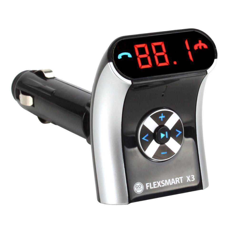 FlexSMART X3 Compact Bluetooth FM Transmitter
