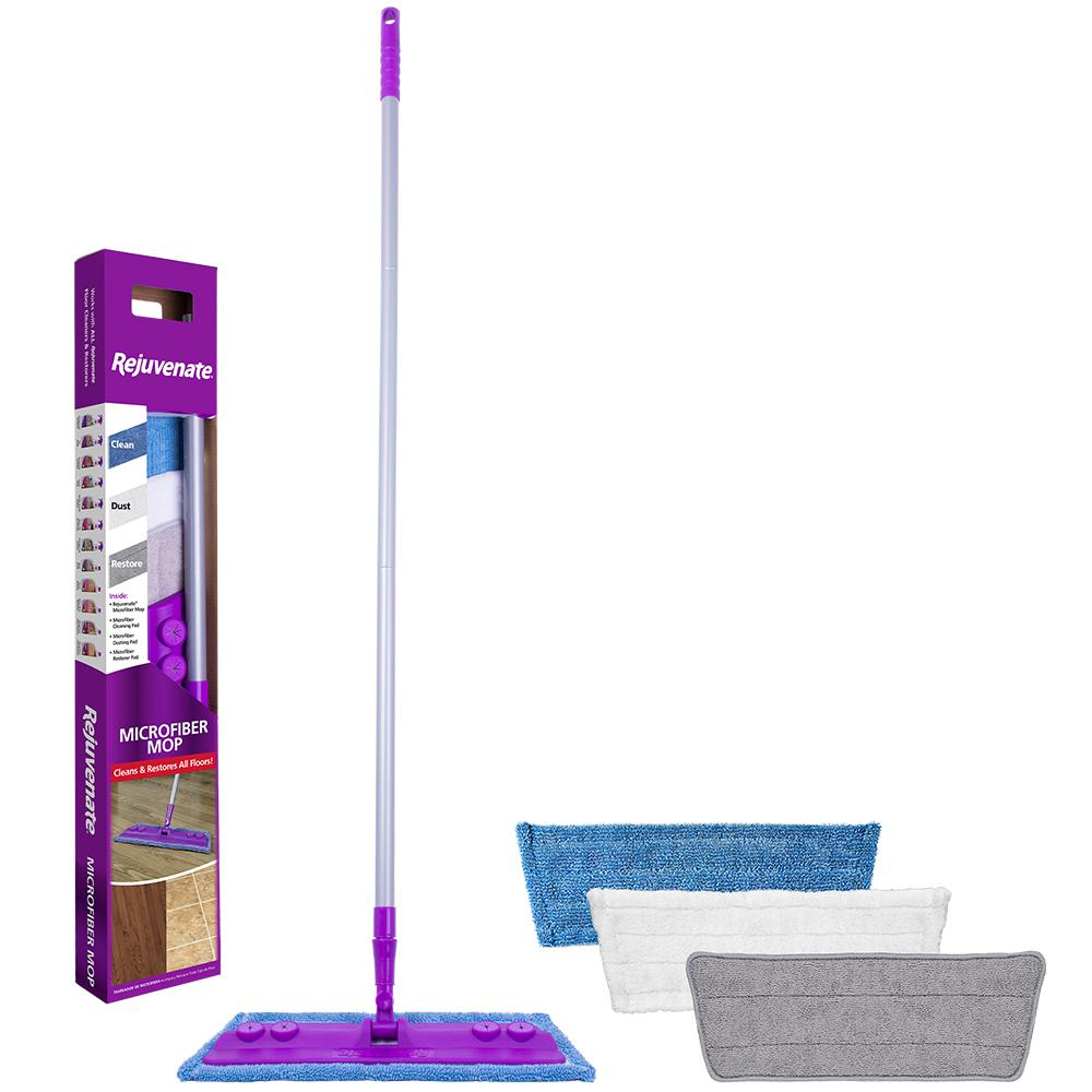Rejuvenate Rejuvenate Microfiber Mop, Multi-Colored
