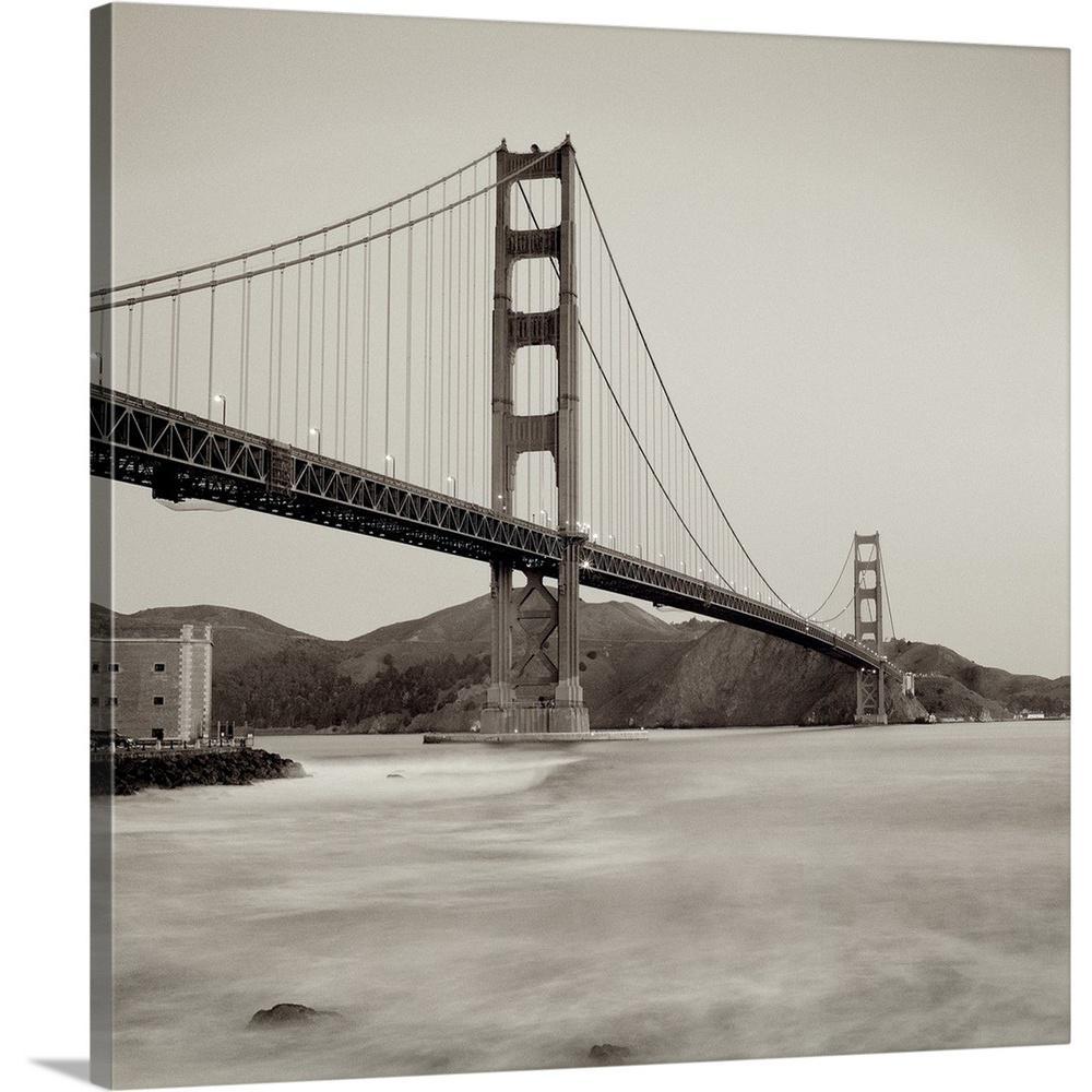 Golden Gate Bridge 34 By Alan Blaustein Canvas Wall Art