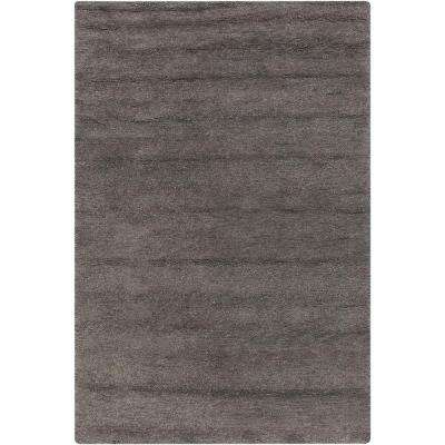 Hillary Charcoal 3 ft. x 5 ft. Indoor Area Rug