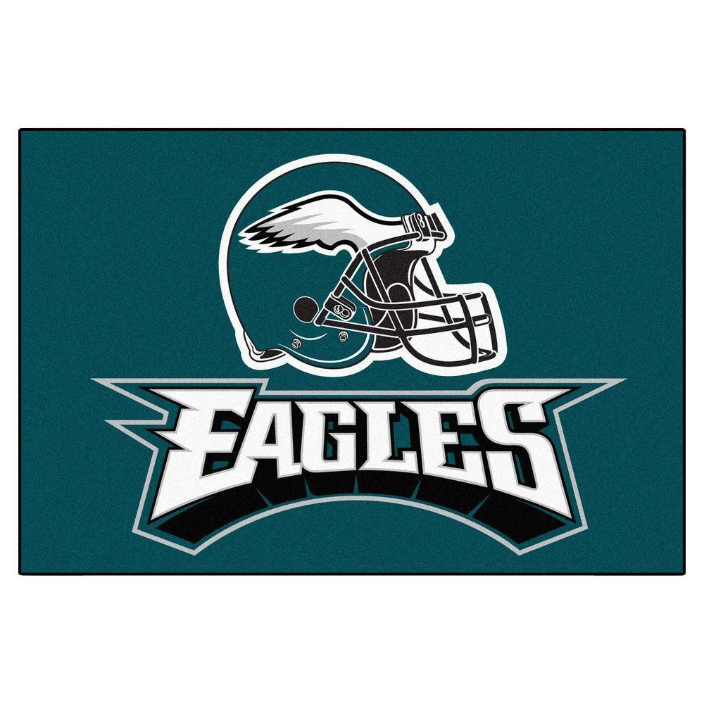 Fanmats Philadelphia Eagles 19 In X 30 In Accent Rug