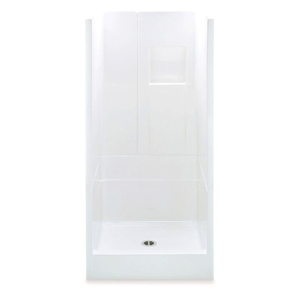 Remodeline 36 in. x 36 in. x 72-3/4 in. 3-Piece Shower