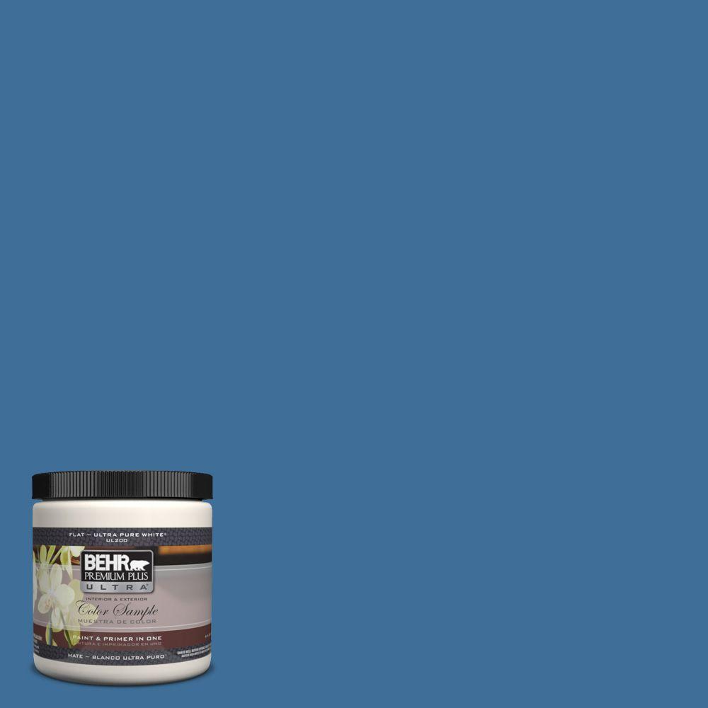 BEHR Premium Plus Ultra 8 oz. #M520-6 National Anthem Interior/Exterior Paint Sample
