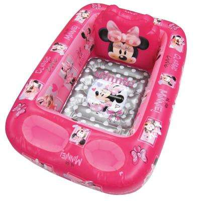 Minnie Mouse Inflatable Safety Bath Tub