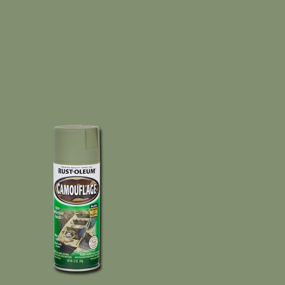 Military Od Green Spray Paint
