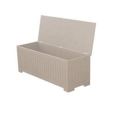 Sydney 36.75 Gal. Driftwood Recycled Plastic Commercial Grade Deck Box