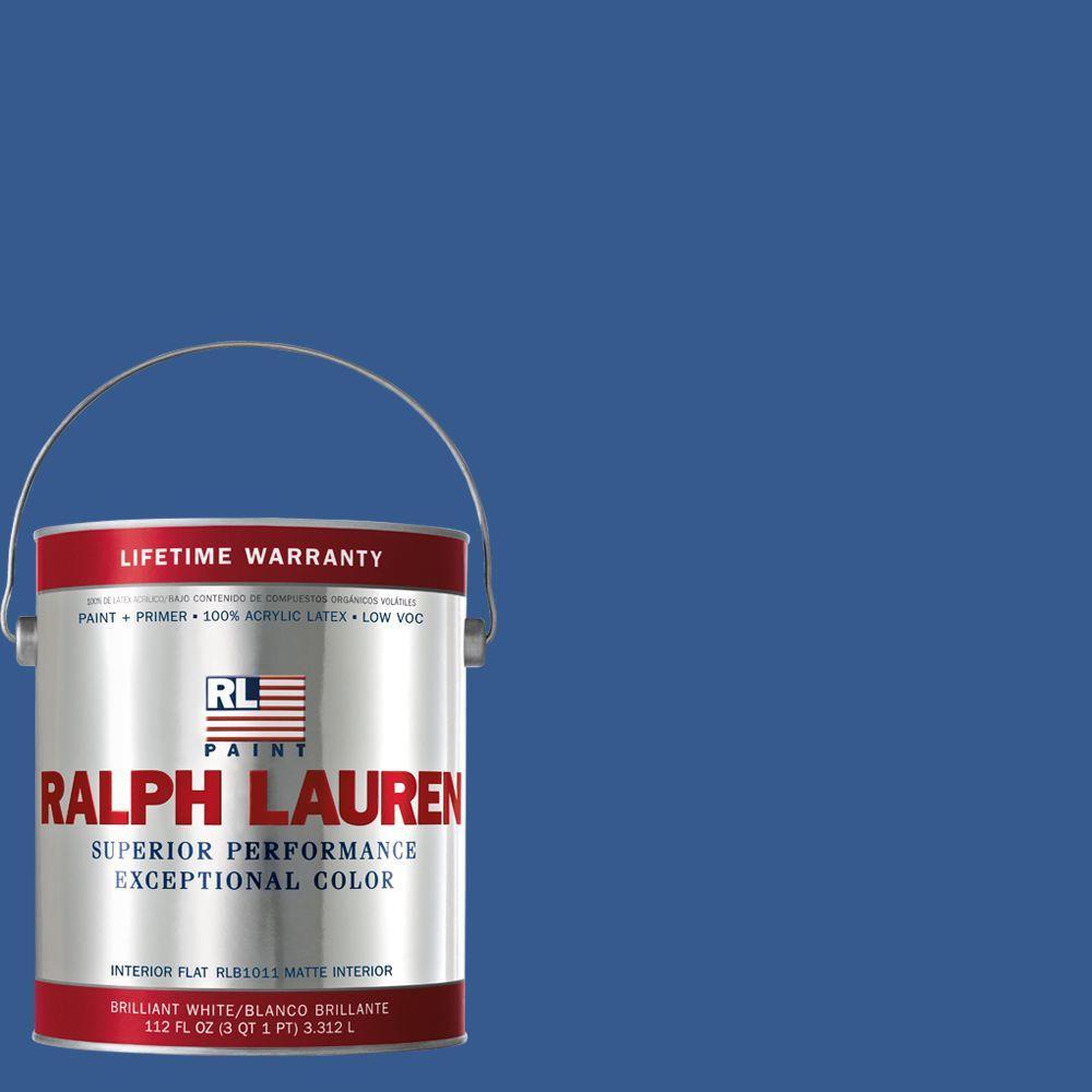 Ralph Lauren 1-gal. Cadet Blue Flat Interior Paint