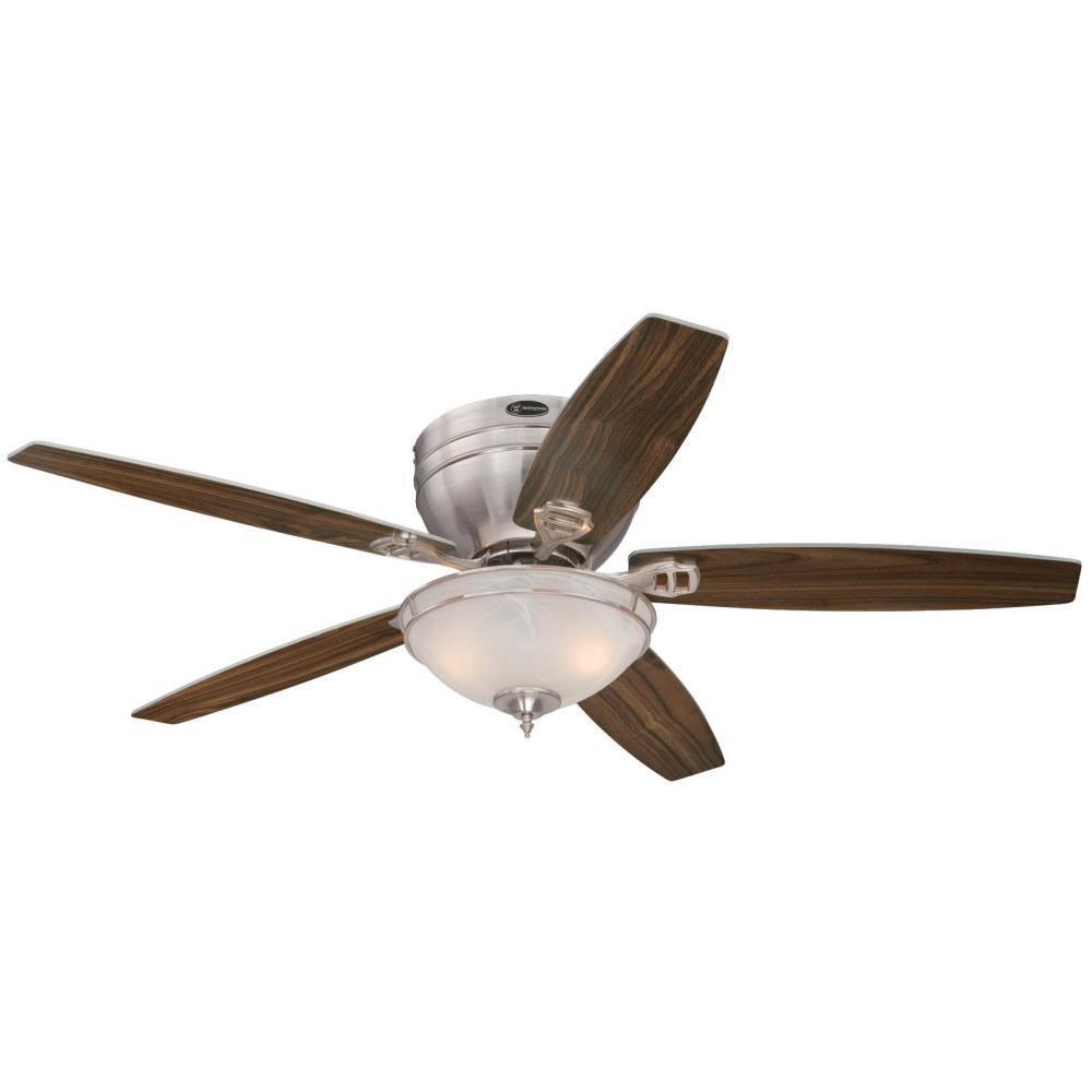 Carolina LED 52 in. LED Brushed Nickel Ceiling Fan