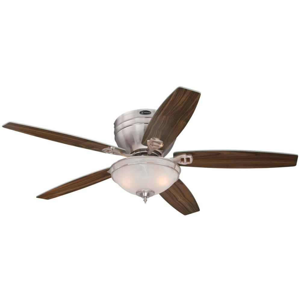 Carolina LED 52 in. LED Brushed Nickel Ceiling Fan