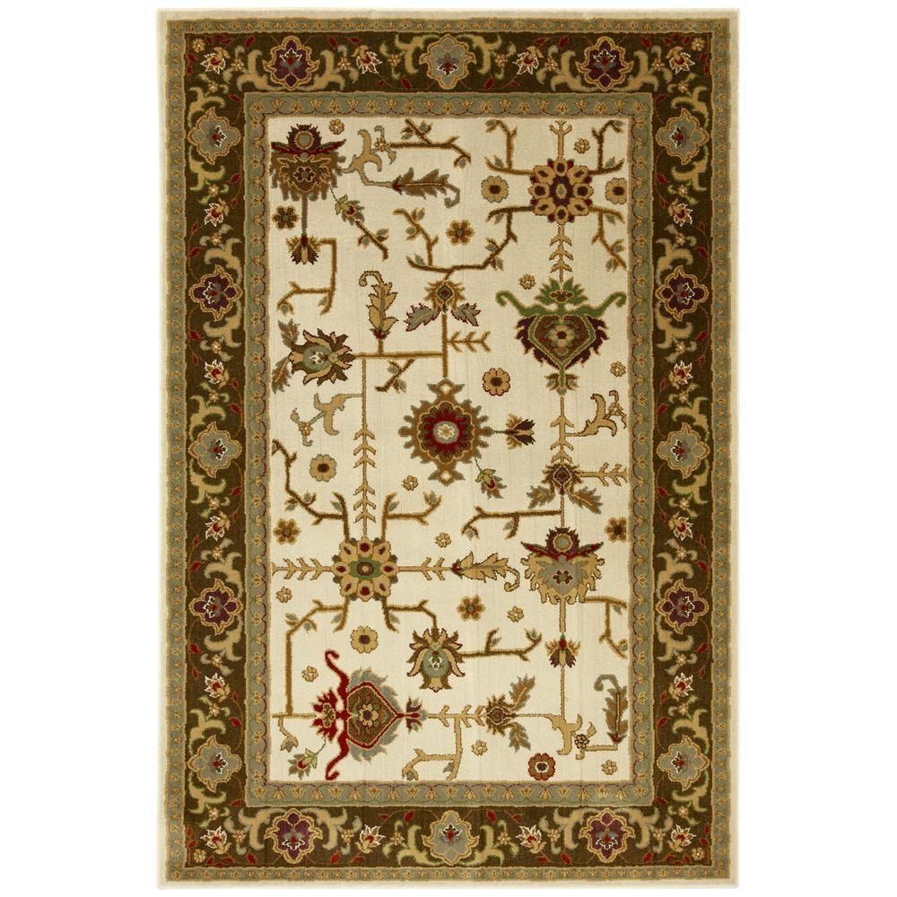 Mohawk Home Taba Brown 5 ft. 3 in. x 7 ft. 6 in. Area Rug