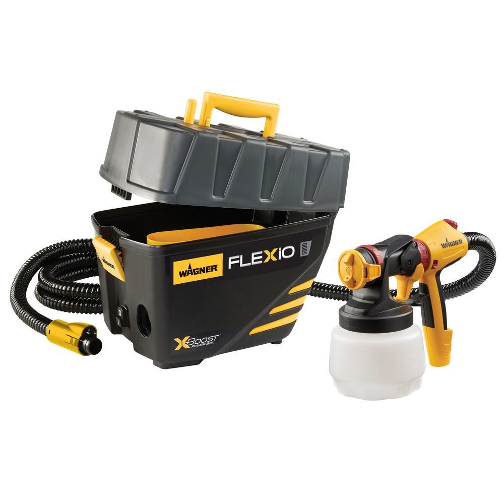 Wagner Flexio 5000 HVLP Paint Sprayer Stationary Stand