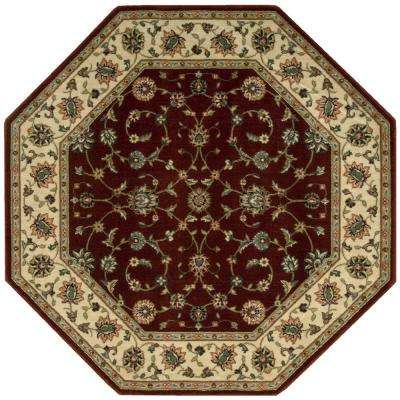 Persian Arts Brick 7 ft. 9 in. x 7 ft. 9 in. Octagon Area Rug