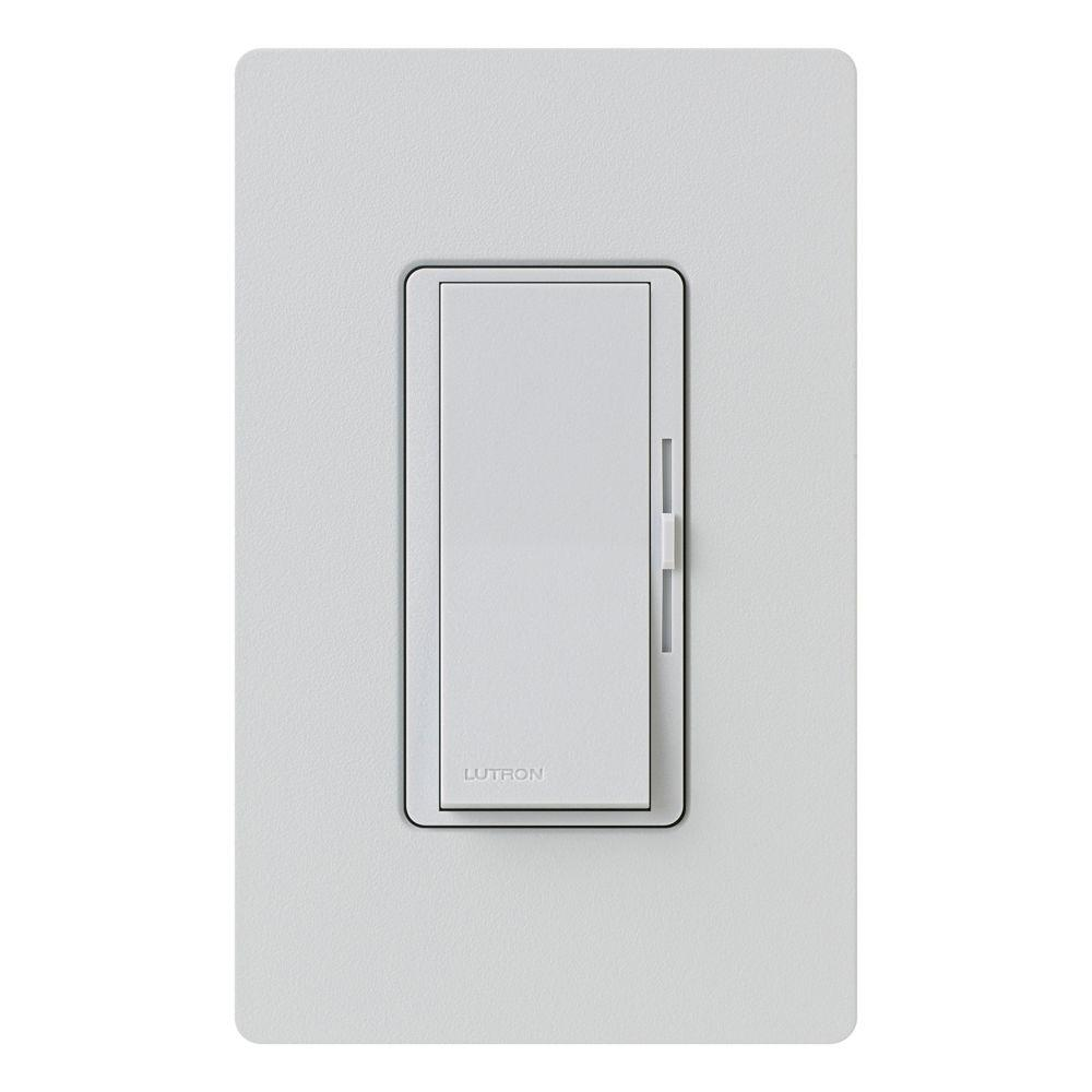 Diva Magnetic Low Voltage Dimmer, 450-Watt, Single-Pole or 3-Way, Palladium