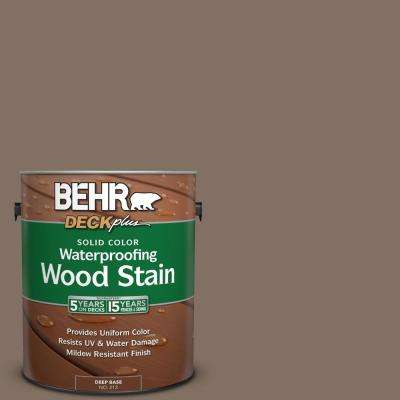 1 gal. #PPU5-17 Cardamom Spice Solid Color Waterproofing Wood Stain