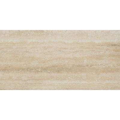 Trevi Sand 12 in. x 24 in. Glazed Porcelain Floor and Wall Tile (16 sq. ft. / case)