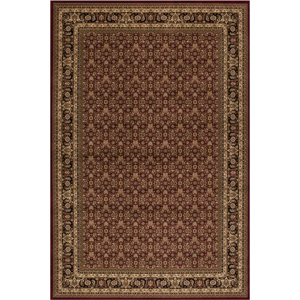 Persian Classics Herati Red 6 ft. 7 in. x 9 ft.