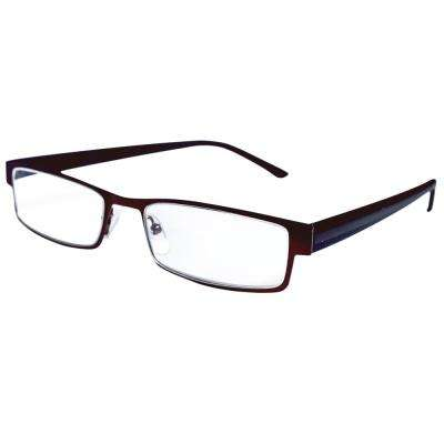 Reading Glasses Modern Bronze 2.5 Magnification (4-Pack)