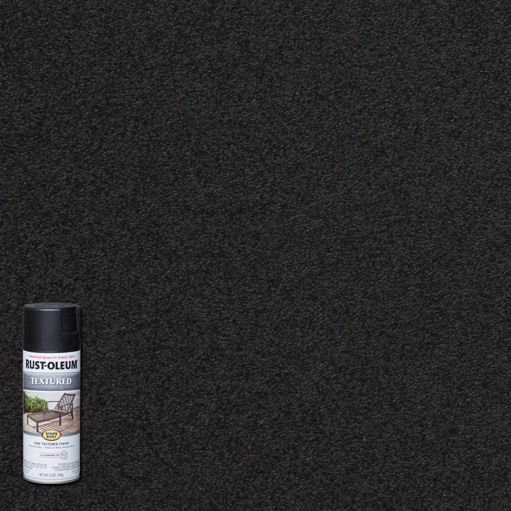 Textured Black Protective Spray Paint