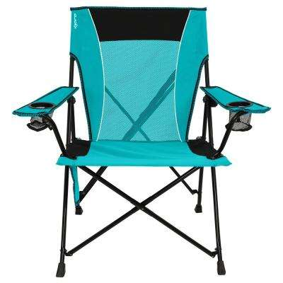 Ionian Turquoise Dual Lock Chair