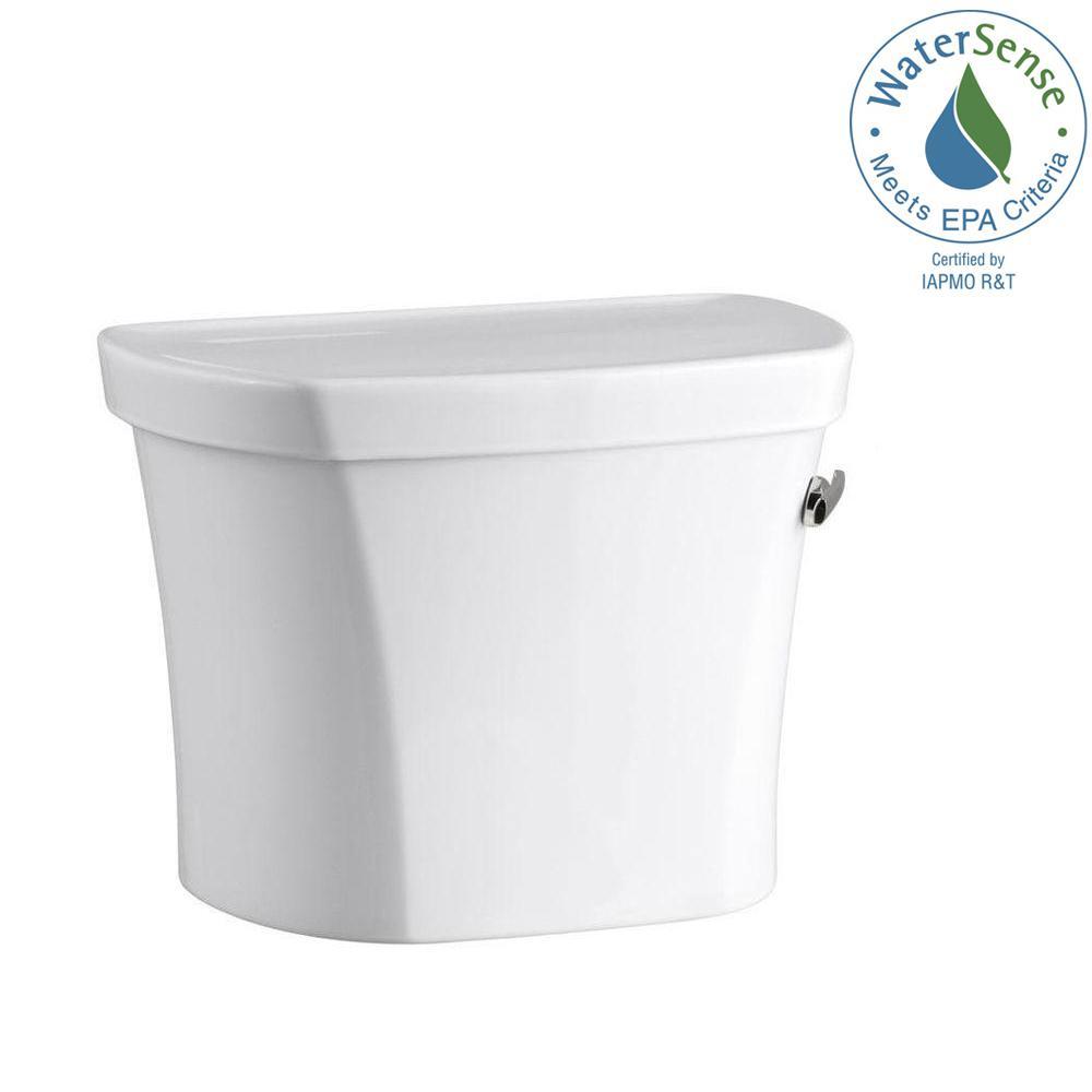 KOHLER Wellworth 1.28 GPF Single Flush Toilet Tank Only in White