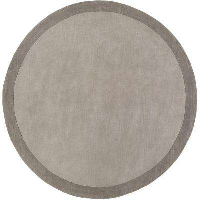 angelo:HOME Pewter 8 ft. x 8 ft. Round Area Rug