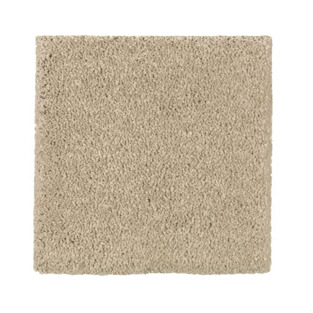 Carpet Sample - Gazelle II - Color Shoe Peg Texture 8 in. x 8 in.