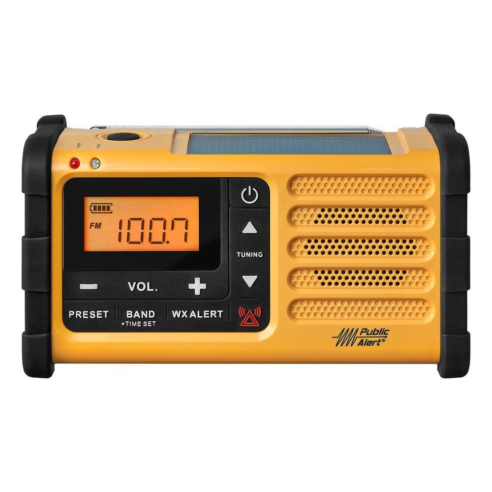 9685f1cb794 Sangean AM FM Handcrank Solar Emergency Alert Radio-MMR-88 - The ...