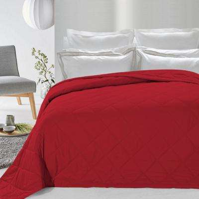 Never Down Red Alternative Blanket