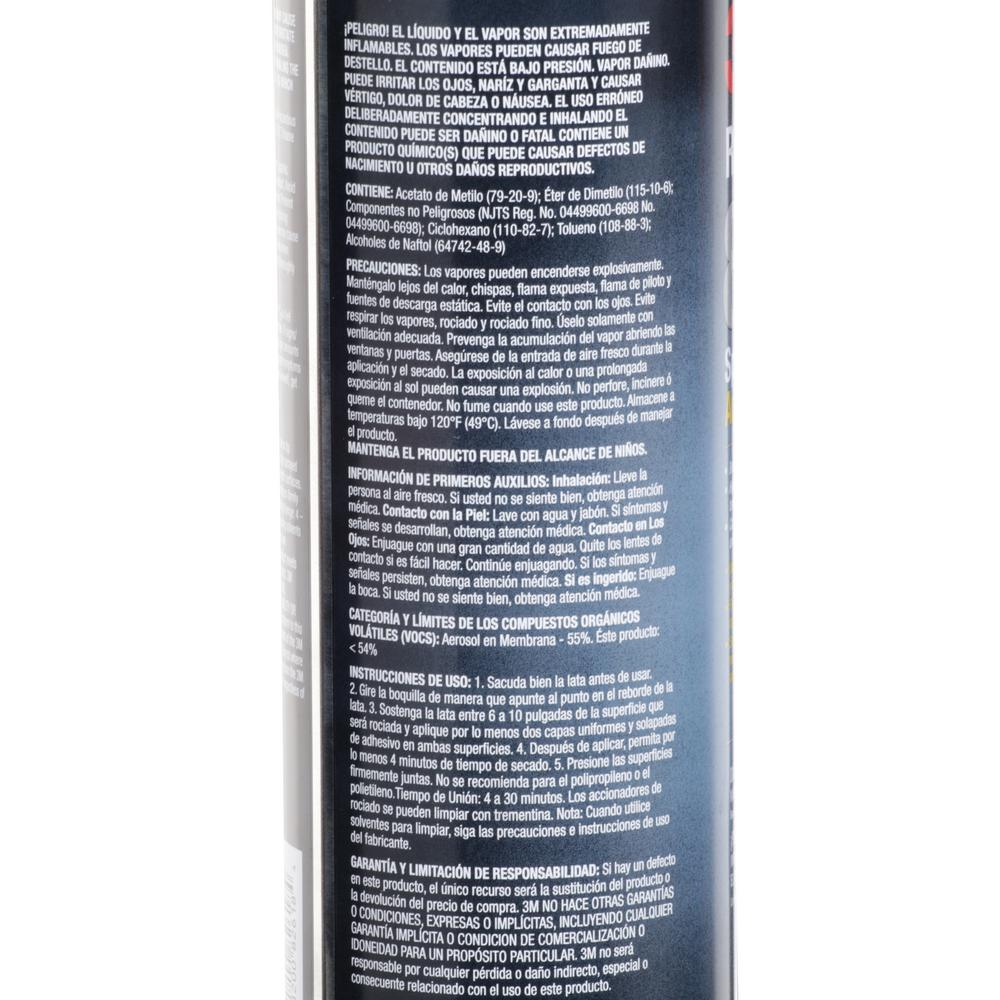 Spray Adhesive Rubber Vinyl 80 3m 19 Oz Strong Glue