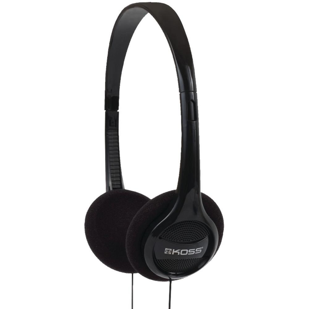 Koss KPH7 On-Ear Headphones, Black