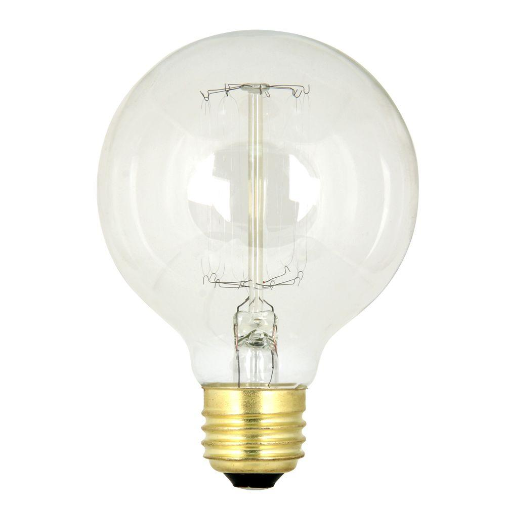 60-Watt Soft White G25 Incandescent Original Vintage Style Light Bulb (Case