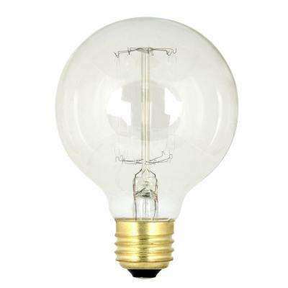 60-Watt Soft White G25 Incandescent Original Vintage Style Light Bulb (Case of 24)