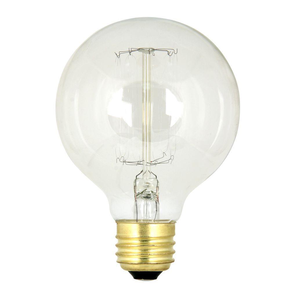60-Watt Soft White G25 Incandescent Original Vintage Style Light Bulb