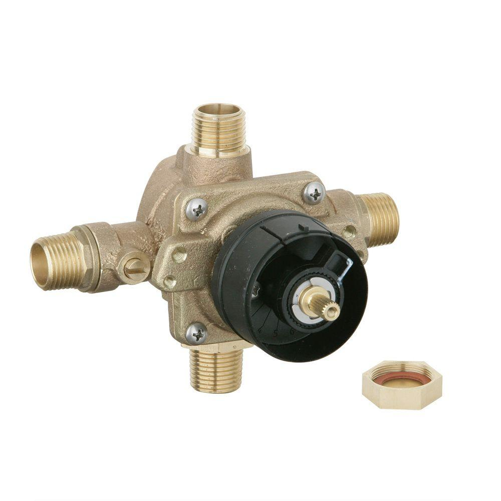 Pressure Balance Shower Rough-In Valve in Chrome