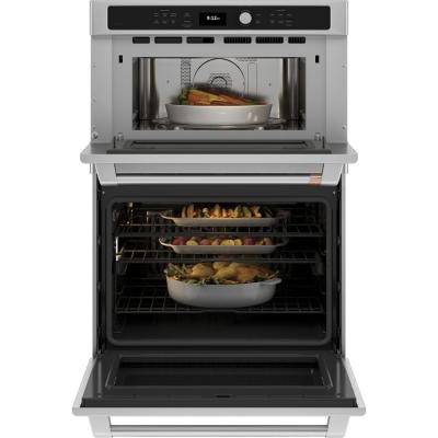 30 in. Double Electric Wall Oven With Convection and Advantium Self Cleaning in Stainless Steel