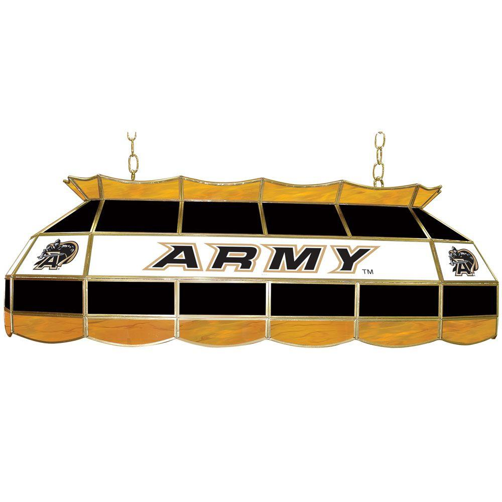 Trademark Army Black Knights 40 In. Gold Stained Glass