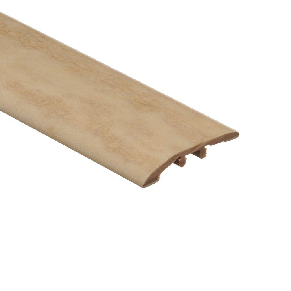 Zamma Aegean Travertine Ivory 1/8 in. Thick x 1-3/4 in. Wide x 72 in. Length Vinyl Multi Purpose Reducer Molding