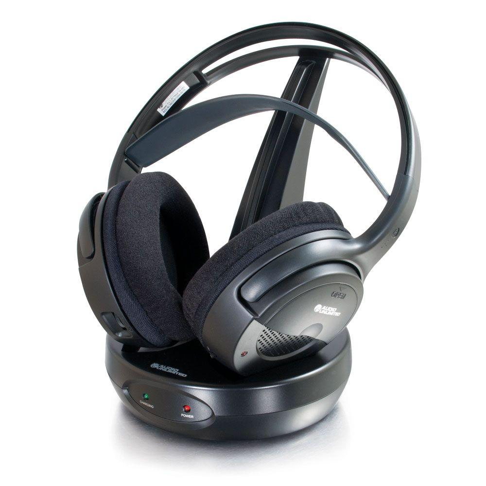 Cables to Go 900MHz Classic Wireless Stereo Headphones (Rechargeable)-DISCONTINUED
