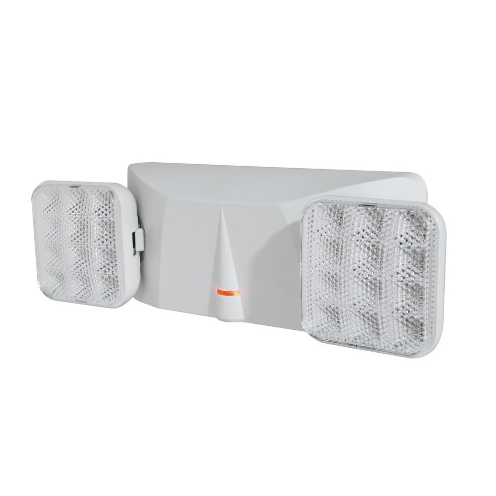 EML1 25-Watt White Integrated LED Emergency Light-EML1-10