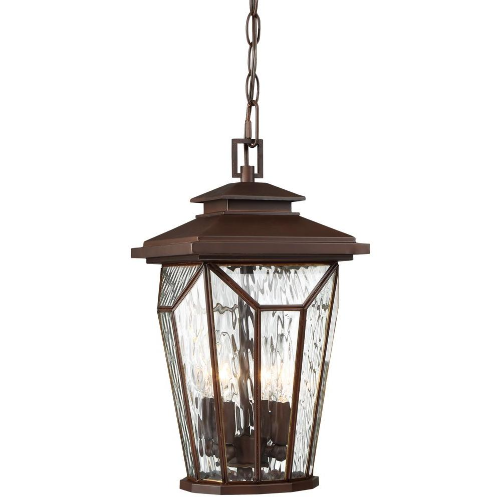 the great outdoors by Minka Lavery Satomi 4-Light Alder Bronze Hanging Light